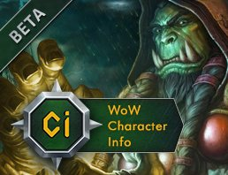 WoW Character info